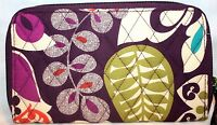 Vera Bradley Accordian Wallet In 4 Patterns - Save $14.00