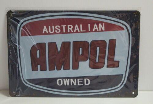 AMS2 AMPOL Metal Sign New 30 cm W X 20 cm H