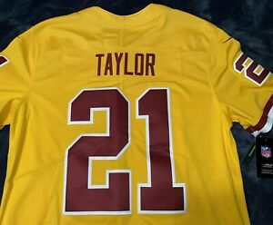 Details about Nike REDSKINS #21 Sean Taylor STITCHED Color Rush LIMITED ED Jersey LARGE NWT