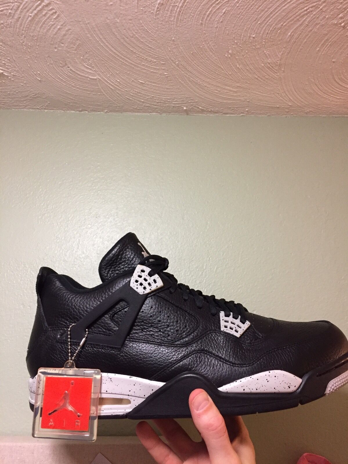 Men's Nike Air Jordan 4 Retro LS Size 18 (314254 003)