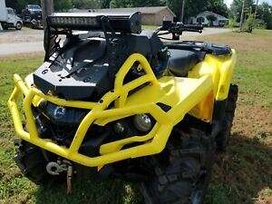 Can Am Outlander 1000 Xmr >> Details About Can Am Outlander Xmr 450 500 570 650 850 1000 Dual Soundbar And Lightbar Mount