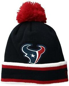 buy popular 5fdbc be3cd Image is loading NFL-Houston-Texans-New-Era-Relaxed-Sport-Knit-