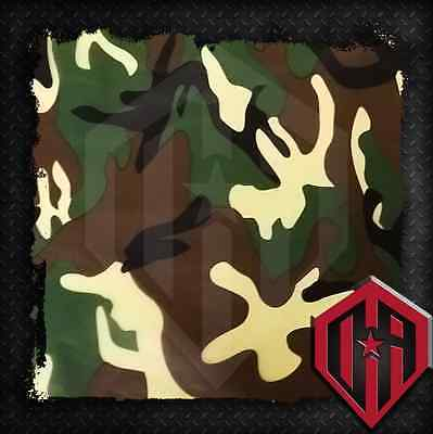 HYDROGRAPHIC WATER TRANSFER HYDRODIPPING FILM HYDRO DIP CAMOUFLAGE GREEN CAMO 2M