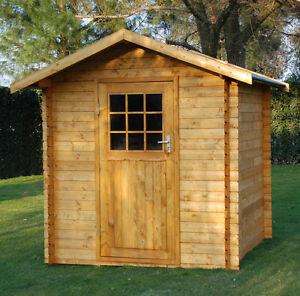 Casetta in di legno 251x251 25 mm casette box giardino 2x2 for Casette in legno usate ebay