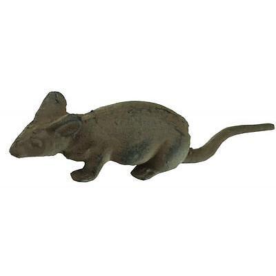 e2e Rustic Cast Iron Mouse Mice Garden Home Ornament Decoration Decor