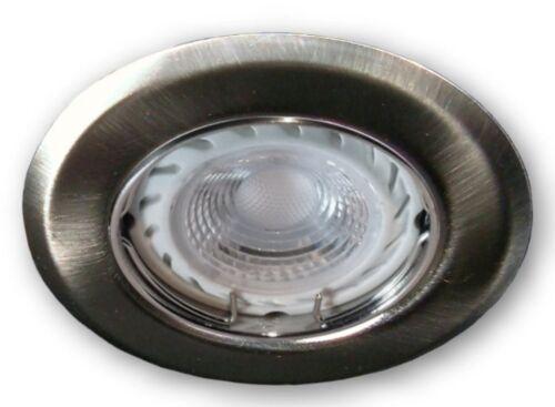 GU10 LED Einbaustrahler 230V Decken Lampe dimmbar Strahler Spot Leuchte