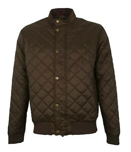 Brand-New-Men-039-s-Barbour-Moss-Green-Quilted-Jacket