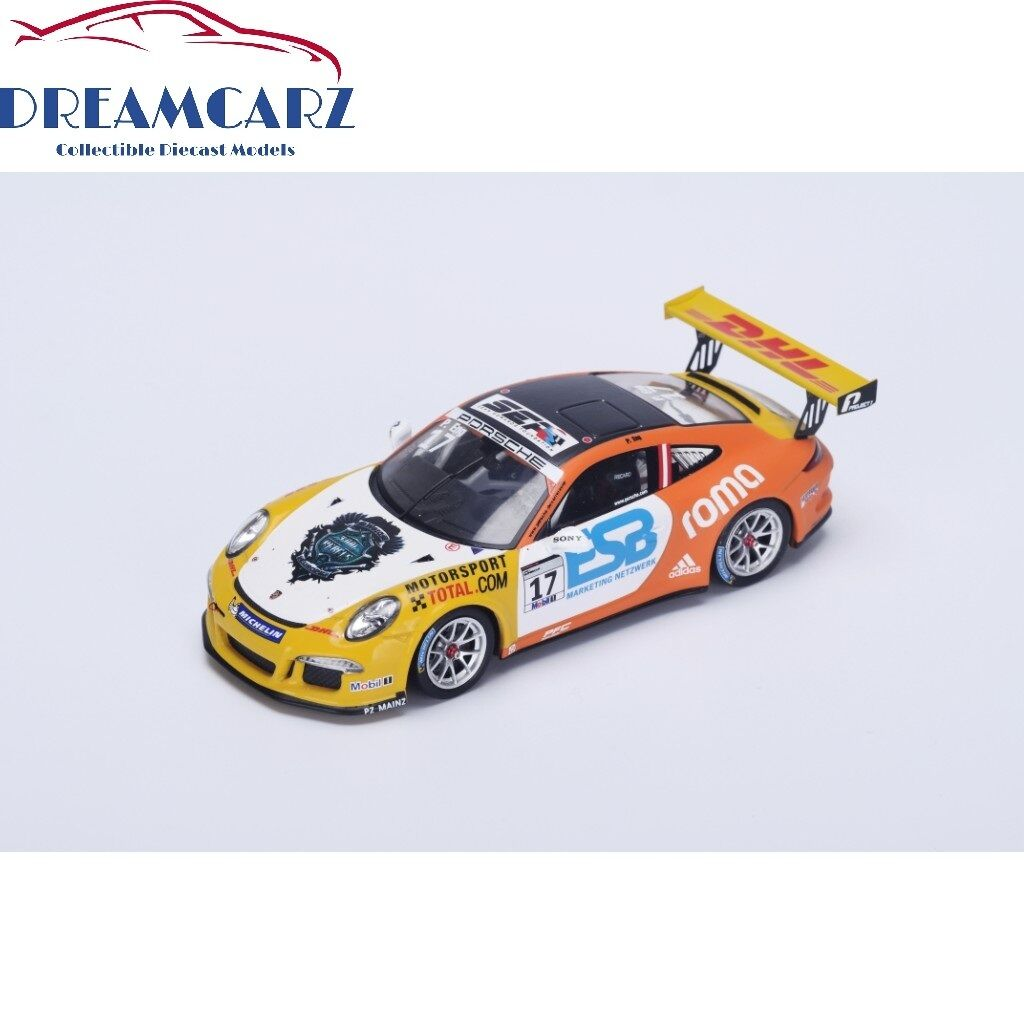 Spark Spark Spark S4697 1 43 Porsche 911 GT3, Mobil 1 Supercup Champion 2015 7a4c21