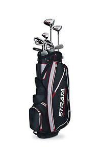 Callaway-Men-039-s-Strata-Complete-Golf-Club-Set-with-Bag-12-Piece-LEFT