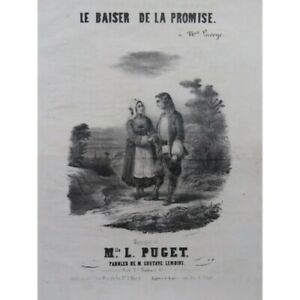 PUGET-Loisa-Quand-tu-reviendras-Chant-Piano-ca1840-partition-sheet-music-score