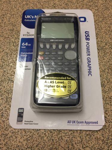 Casio Graphique Calculatrice FX-9750GII UK Examen Approuvé USB TVA INC NEUF  | eBay