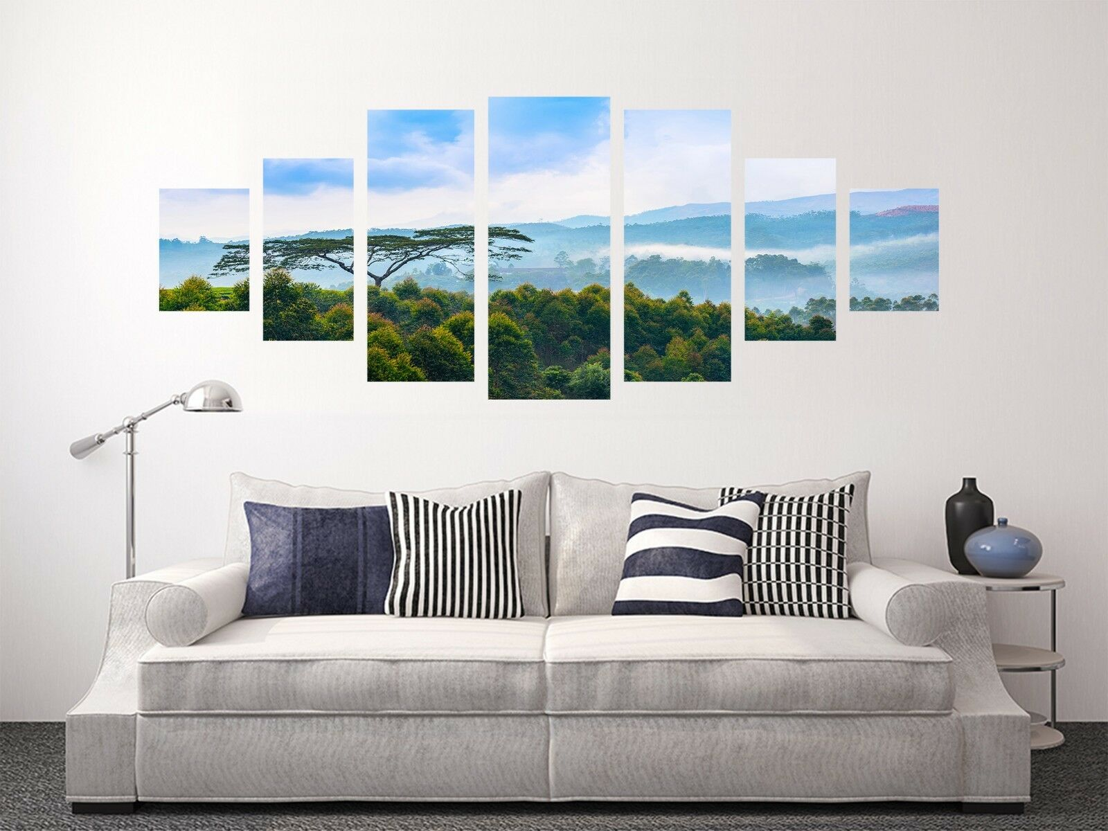 3D vert Forest 7 Unframed Print Wall Paper Decal Wall Deco Indoor AJ Jenny