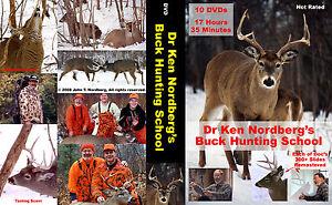 Dr-Ken-Nordberg-039-s-Buck-Hunting-School-10-Disc-DVD-Set