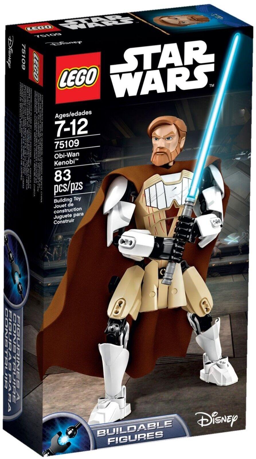 LEGO stjärnornas krig 75109 - Obi -Wan Kenobi - Byggbar figur - Ny i rutan