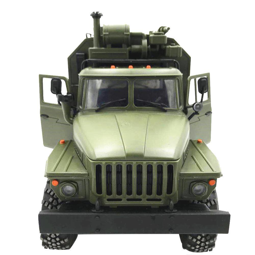 WPL 1:16  RC-CAR 6WD 2,4 G Militär LKW Befehl Fernbedienung Fahrzeug-Klettern