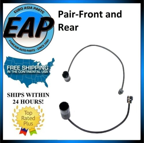 For BMW 840CI 850CSI 850CI 850I E31 Pair FRONT /& REAR Brake Pad Wear Sensors NEW