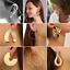 Gothic-Fashion-Women-039-s-Large-Circle-Geometry-Metal-Earring-Ear-Stud-Earrings-HOT thumbnail 1