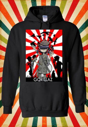 Gorillaz Noodle Virtual Band Funny Men Women Unisex Top Hoodie Sweatshirt 1868