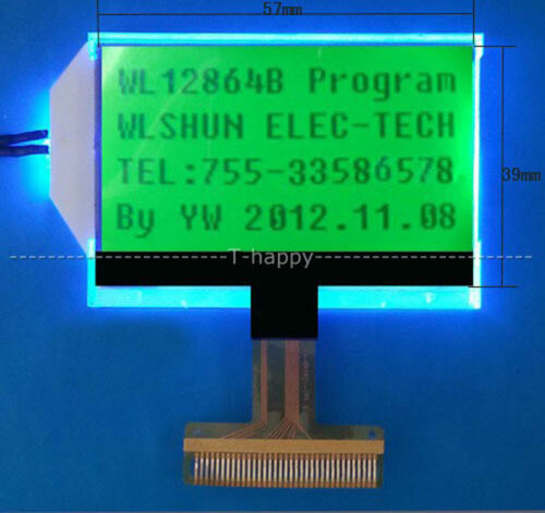 12864B Dots Matrix Graphic LCD Display Screen FOR ESR METER Transistor Tester
