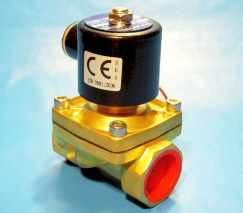 """NORMALLY CLOSED OPERATION 110 VOLT AC 1//2/"""" ELECTRIC SOLENOID VALVE"""