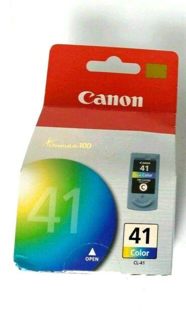CANON CL-41 GENUINE COLOUR INK CARTRIDGE IP1300 IP1600 IP1700 IP1800 IP2200