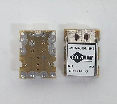 COMNAV 3BCR2B-3000/_150-L 3-pole 150 MHz BW Ceramic BandPass Filter1pc.