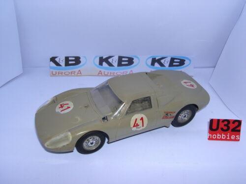 K & B AURORA PORSCHE 906/916 #41 1965 1/24 AUSGEZEICHNET ZUSTAND UNBOXED Elektrisches Spielzeug