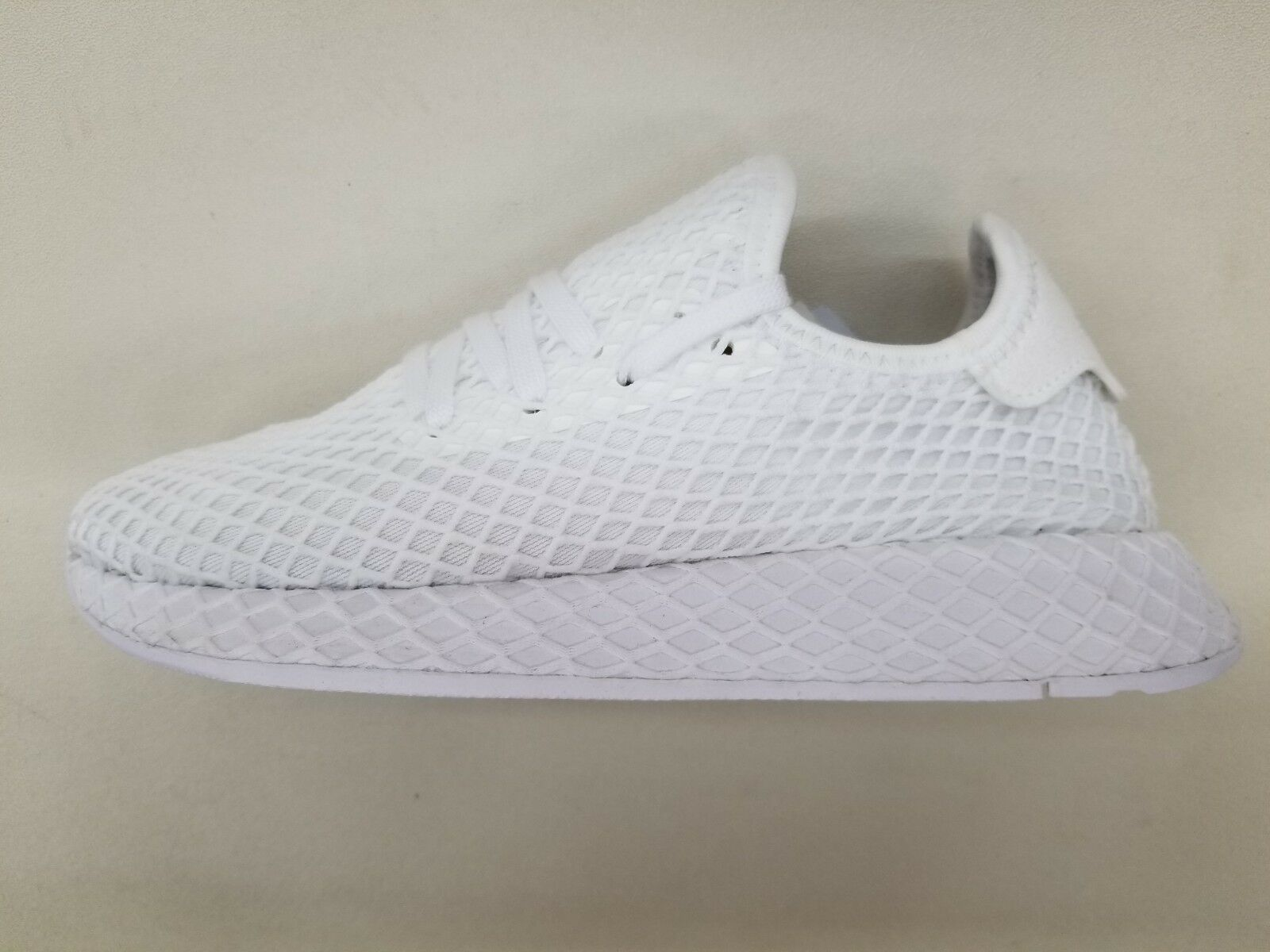 ADIDAS ORIGINALS DEERUPT RUNNER FOOTWEAR WHITE BLACK MENS SIZE SNEAKERS CQ2625