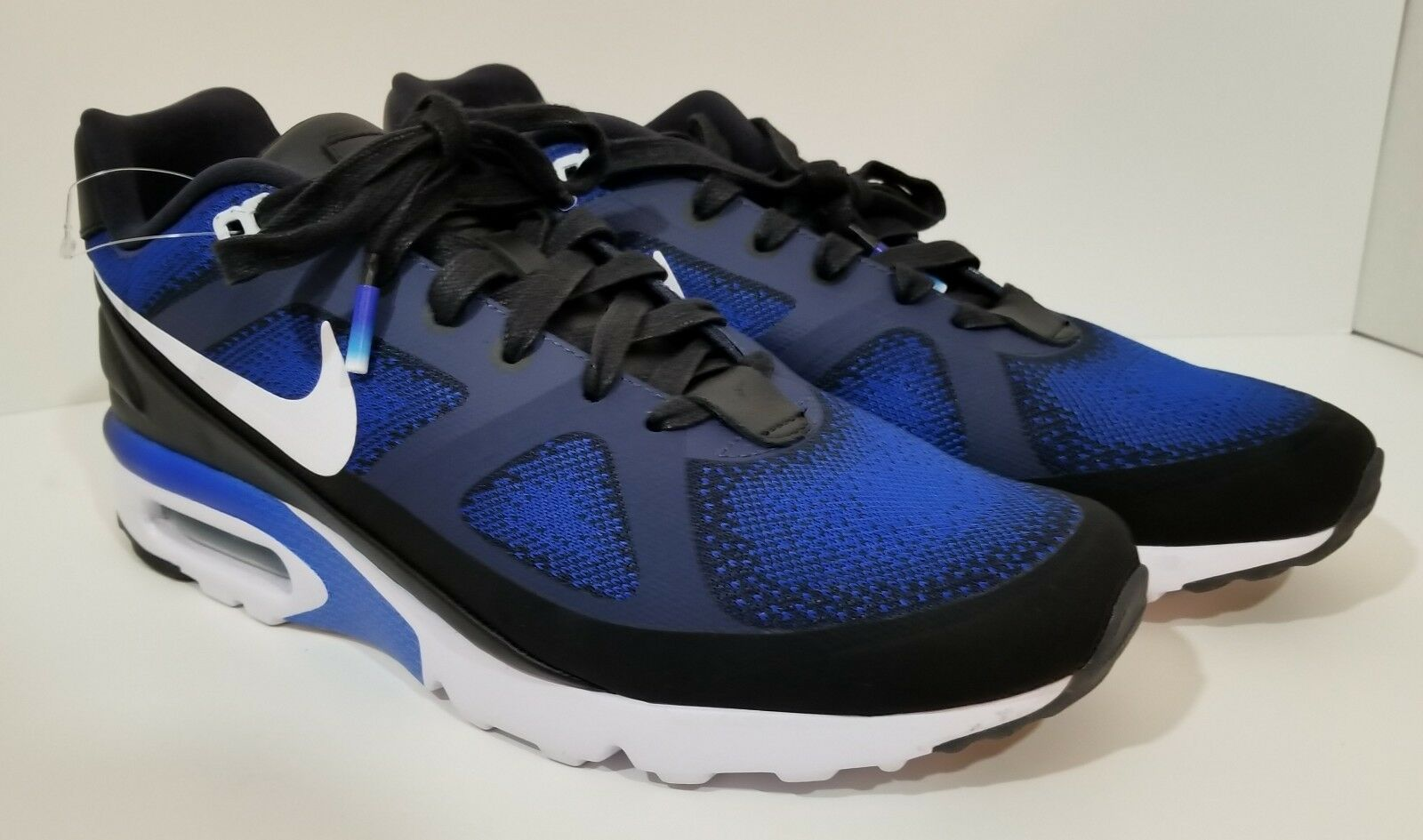 ab362d8b4ac4 ... Nike Air Max MP MP MP Ultra Mark Parker Mens Running Shoes Blue Black  Size 11 ...
