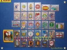 Panini★WM 2002 WC 02 World Cup★ Komplett-Satz Wappen - ungeklebt, mint-condition