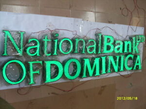 Details about NEW Custom size LED Frontlit Channel Letter Sign Store Front  Shop Business Sign