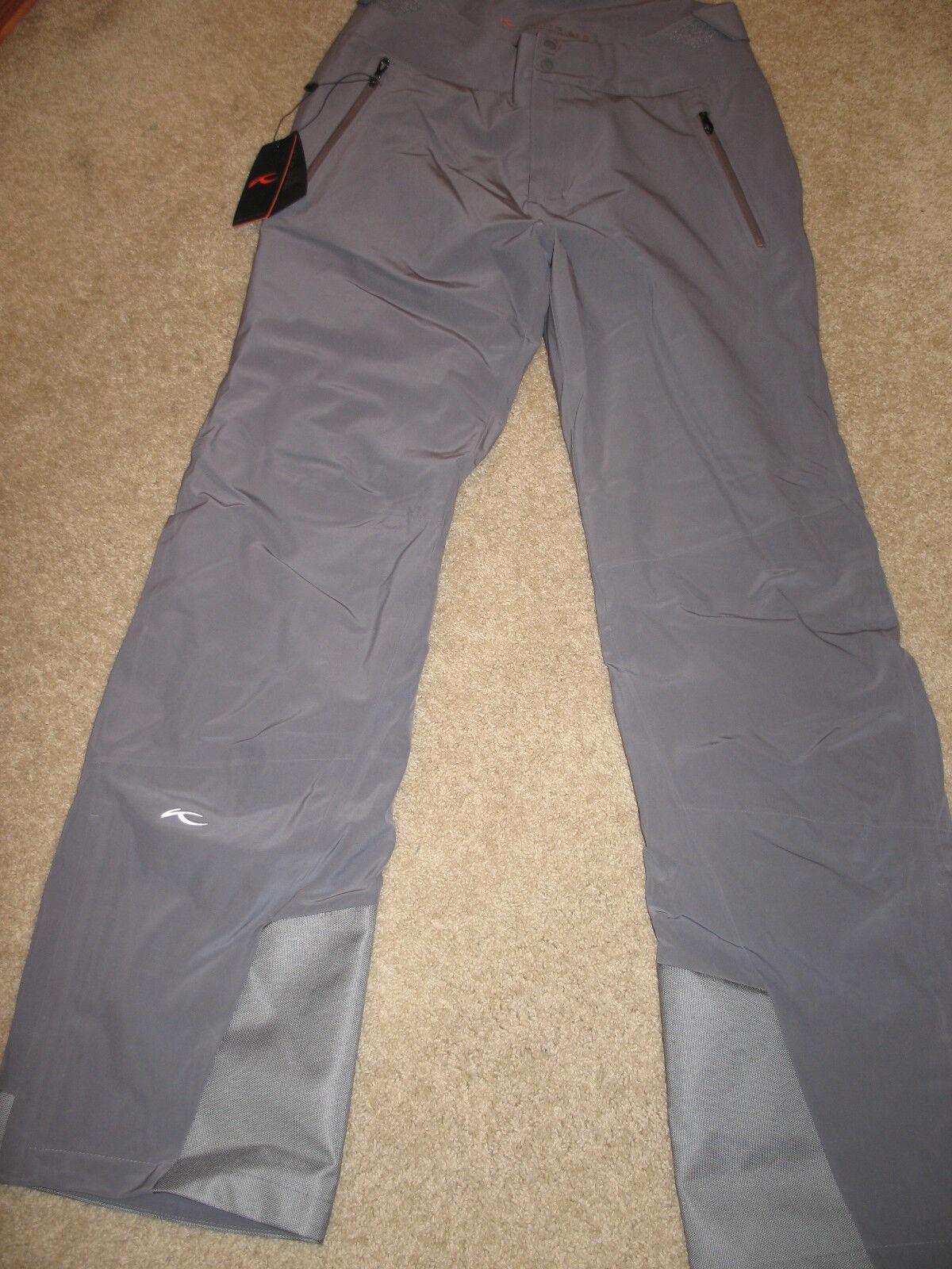KJUS  Formula Pro Ski Pants Waterproof, Insulated (For  Men).M(50 Long).G .NWT.  quality assurance