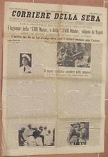 CORRIERE DELLA SERA 25 AGOSTO 1935 LEGIONARI VAL D'ADIGE GALEAZZO CIANO ERITREA
