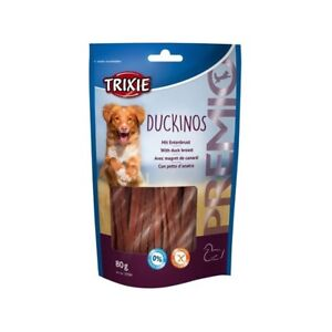 SET-5-gr80-TRIXIE-DUCKINOS-Golosi-Stick-d-039-DUCK-GLUTENFREE-Without-Sugar-Agg