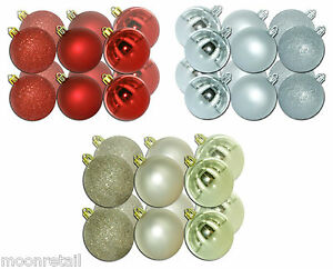 Christmas-Tree-Baubles-Shatter-Proof-Glitter-Shatterproof-Xmas-Decorations-Balls