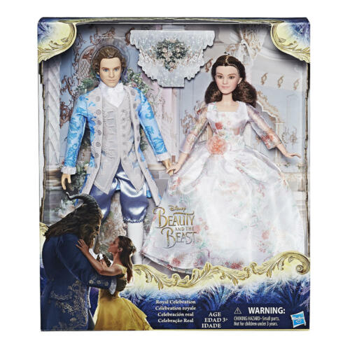 Beauty and the Beast Royal Celebration Movie Doll 2 Pack w Belle