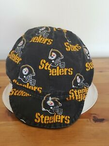 Pittsburgh steelers Lidded Skull/beanie Hat #2