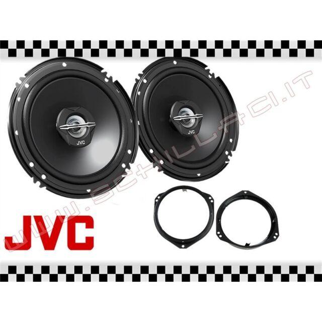 Coppia casse JVC + supporti OPEL Corsa B C 93 16,5cm altoparlanti