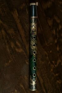 Bamboo Flute Musical Wind instrument Hand Crafted Indonesia Bansuri Gift Exotic