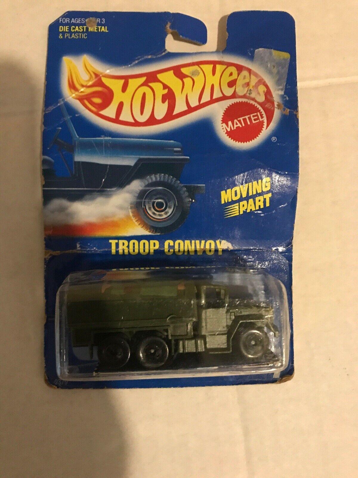 comprar barato Nuevo muy poco común-Troop convoy-Tarjeta Azul Azul Azul -  7 - hot Wheels-RARE-ORIGINAL-muy difícil de encontrar  gran descuento