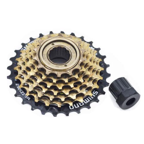 SHIMANO MF-TZ500-7 MTB Bicycle Freewheel TZ500 TZ500-7 14-28T Updated of TZ21