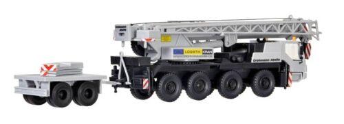 Kit pista h0 Kibri 13037 Liebherr LTM 1050//4 con ballastanhänger
