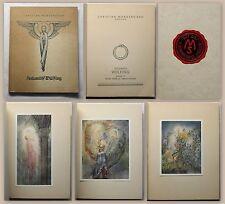 Sulamith Wülfing Morgenstern Gedichte Band VI EA 9 farbige Bilder Kunst 1934 xz