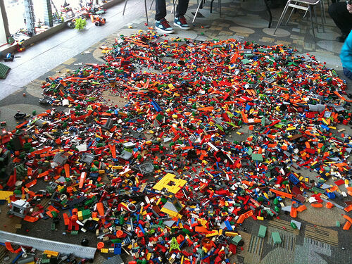 U☀️1 to 1000 POUNDS LB of LEGO LEGOS PIECES FROM HUGE BULK LOT PARTS @ RANDOM