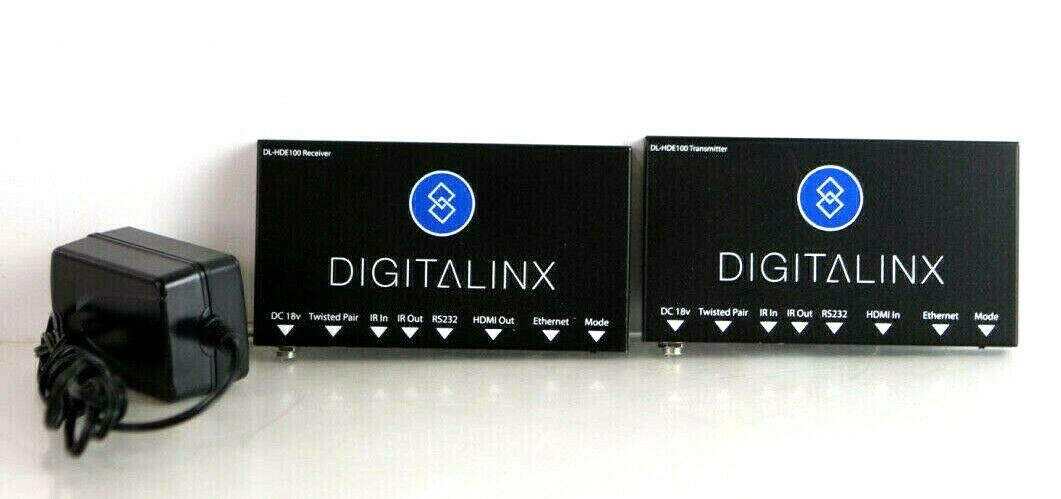 HDMI Over Twisted Pair Set with power and control DigitaLinx DL-HD70