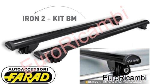 BARRE PORTATUTTO X CORRIMANO BASSO FARAD IRON 120 BM4 AUDI A4 /'08-/> AVANT