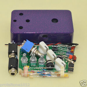 build your own fuzz effect pedal case with 1590b stomp box pedal free shipping 702756454105 ebay. Black Bedroom Furniture Sets. Home Design Ideas