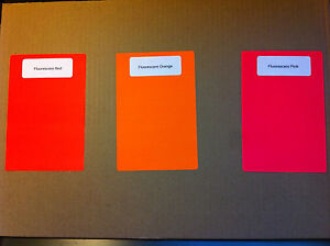 Image Is Loading 4x6 Thermal Transfer Labels Fluorescent Colors Red Orange