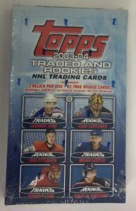 2003-04-Topps-Rookie-and-Traded-Factory-Sealed-Hobby-Hockey-Box