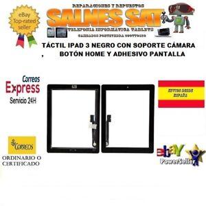 TACTIL-IPAD-3-NEGRO-CON-BOToN-HOME-SOPORTE-CAMARA-Y-ADHESIVO-PANTALLA